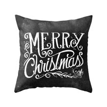 Hot Selling Vintage Christmas House Sofa Bed Home Decoration Festival Pillow Cushion Cover Drop Shipping 0520(China)