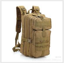 34L Paquete Ejército Mochila Militar Asalto Táctico Molle Bug Out Bag Pequeña Mochila Impermeable para Al Aire Libre que va de Excursión de Caza