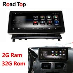 Android 8.1 Octa 8-Core 2 + 32G Auto Radio Unità di Testa di Navigazione GPS Bluetooth WiFi Dello Schermo per mercedes Benz Classe C W204 2008-2010