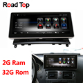 Android 8,1 Octa 8-Core 2 + 32G coche Radio GPS navegación Bluetooth WiFi cabeza unidad pantalla para mercedes-Benz Clase C W204 2008-2010