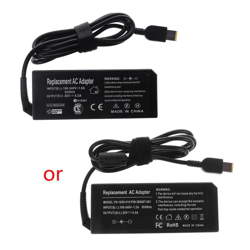 2020 New <font><b>20V</b></font> 4.5A 90W <font><b>AC</b></font> <font><b>Adapter</b></font> Battery Charger Power Supply For Lenovo for ThinkPad image
