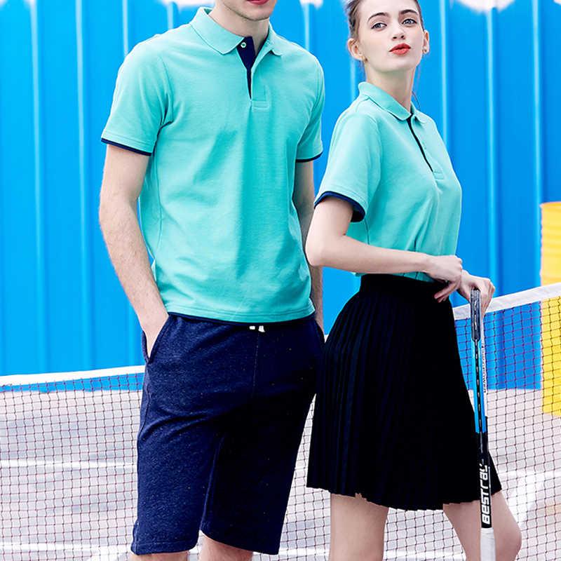 ブランド新メンズポロシャツの男性の綿半袖シャツ Sportspolo ジャージ Golftennis プラスサイズ XS-3XL カミーサポロオム