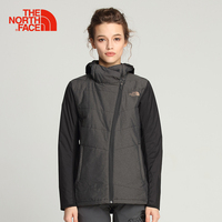 The North Face Cotton Hiking Jacket for Women Outdoor Sports Comfortable Soft Coats Thermal Hooded Light Casual Clothes 3RGP