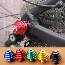MUQZI Mountain Bike Fixed Gear Road Quick Release Bicycle Hub Nut Aluminum Alloy Modified Parts