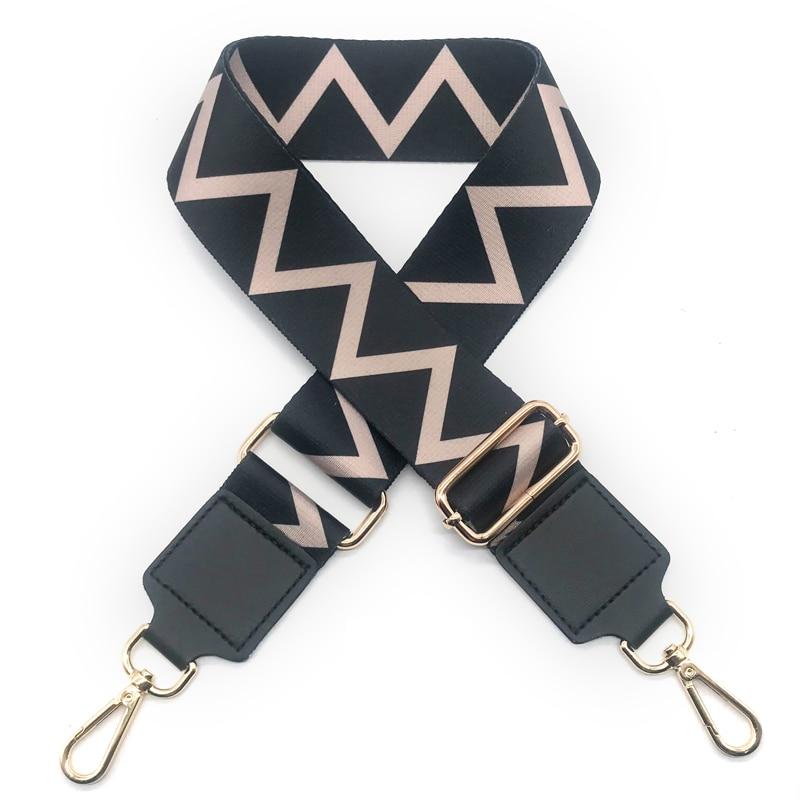 2019 Women's Bag Wide Shoulder Strap Nylon Crossbody Shoulder Bag Strap Handles Canvas Adjustable Bag Belt Accessories KZ151347
