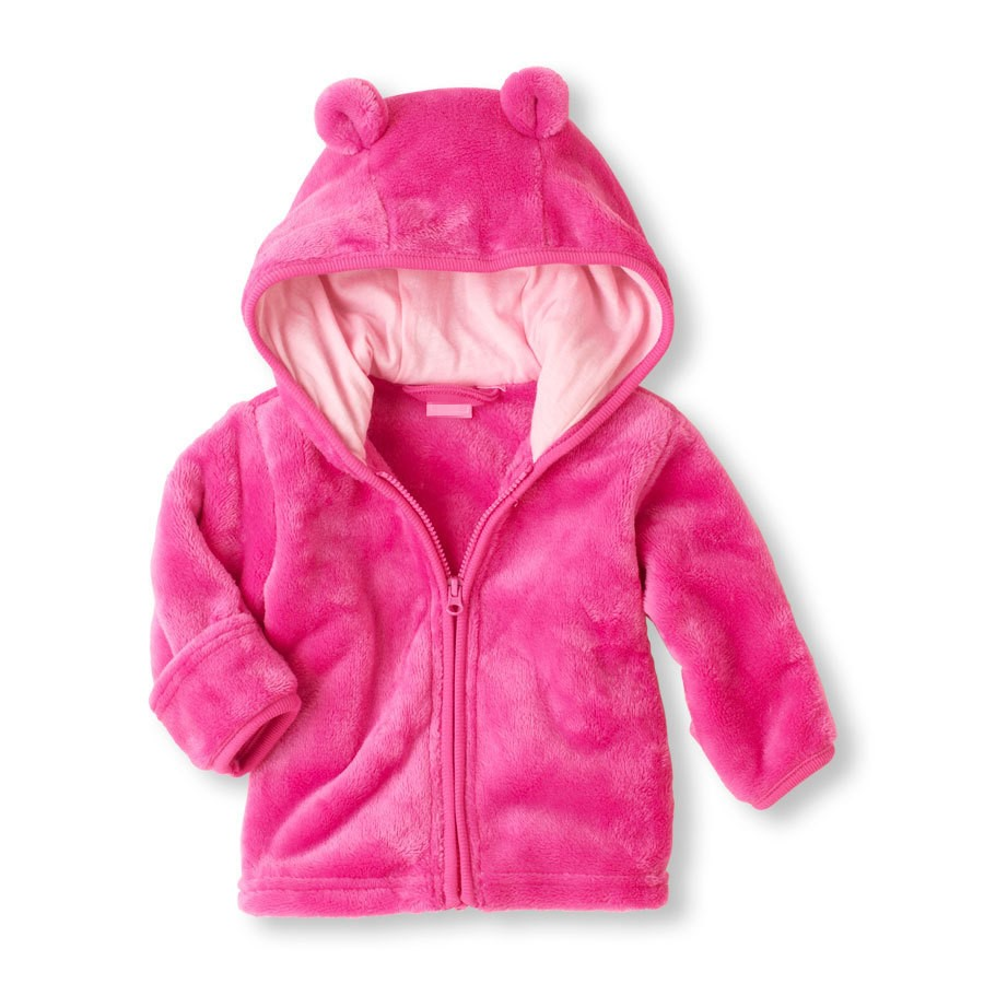 Winter Coat Baby Clothes Infant Baby Wear Snowsuit Overall Super Coral Velvet Hooded Jacket Hoodies Blue White Rose