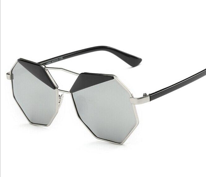 lady sunglasses for sale fll0  2016 New Brand Designer Polarized Big Mirror Sunglasses Women Hexagon  Lovers Hippie Ladies Sunglasses Pilot Sun