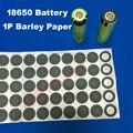 Isolamento Espaçador junta de papel 18650 bateria 1 P Papel Cevada cevada com cola usada para 18650 células de baterias de lítio Cilíndricas