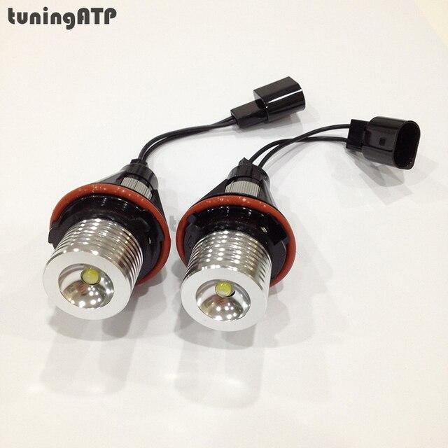 6 W Angel Eyes LED Marcador para BMW E39 E60 E61 E63 E64 E65 E66 E83 E87 X3 X5 E53 * Opcional em Branco/Azul/Vermelho luz *