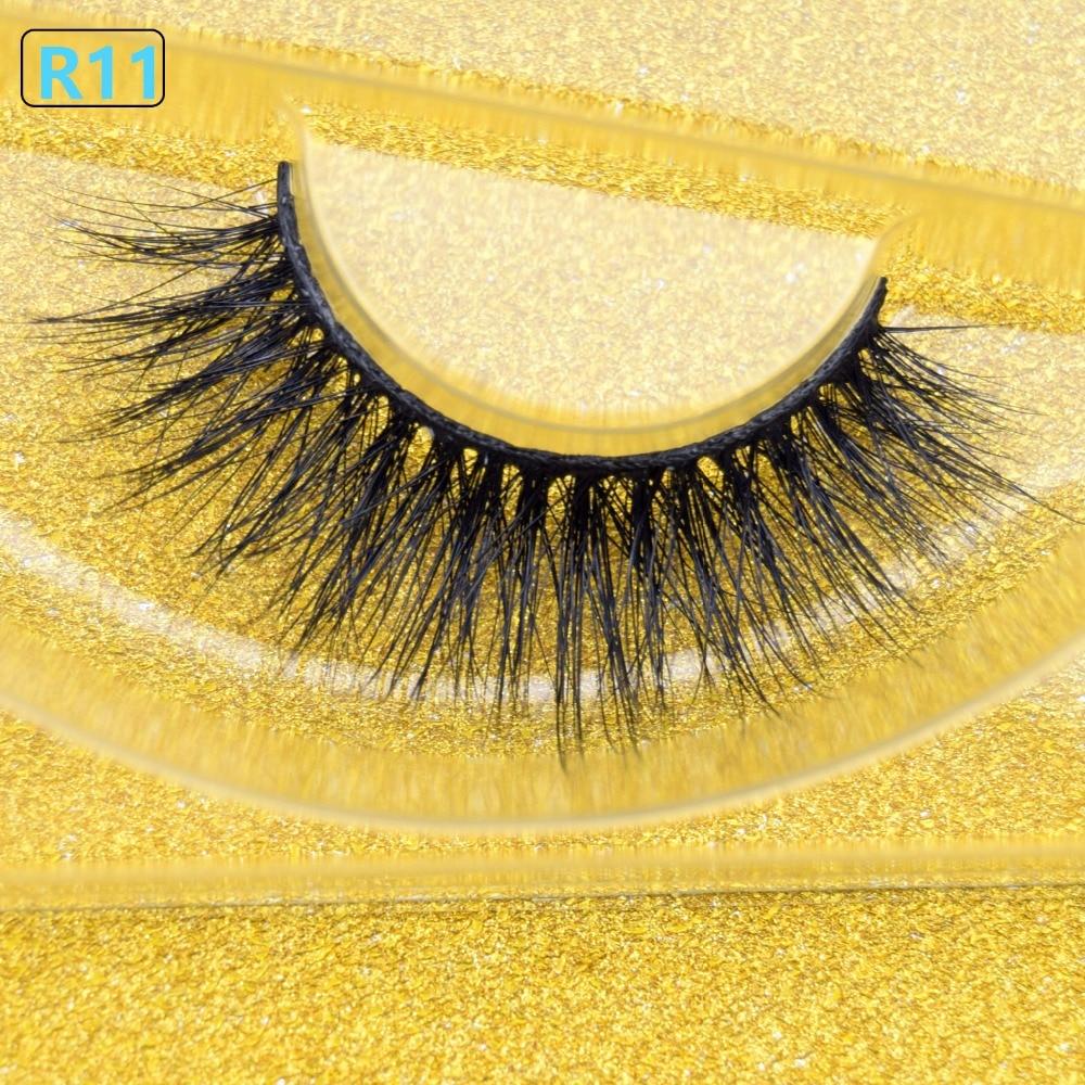 09811305599 Mink Eyelashes Long Lasting Fake Eyelashes Cruelty Free 3D Mink Lashes Hand  Made Reusable Cilios Mink Fake Eye Lashes Faux Cils