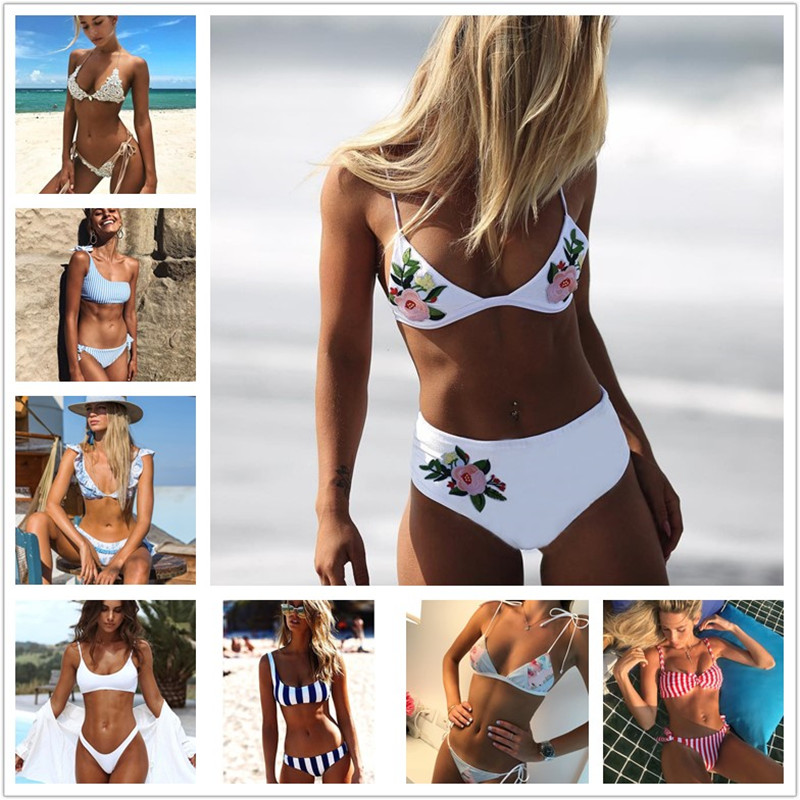 2017 Swimwear Women Bikinis Mujer Women Sexy Swimsuit Bath