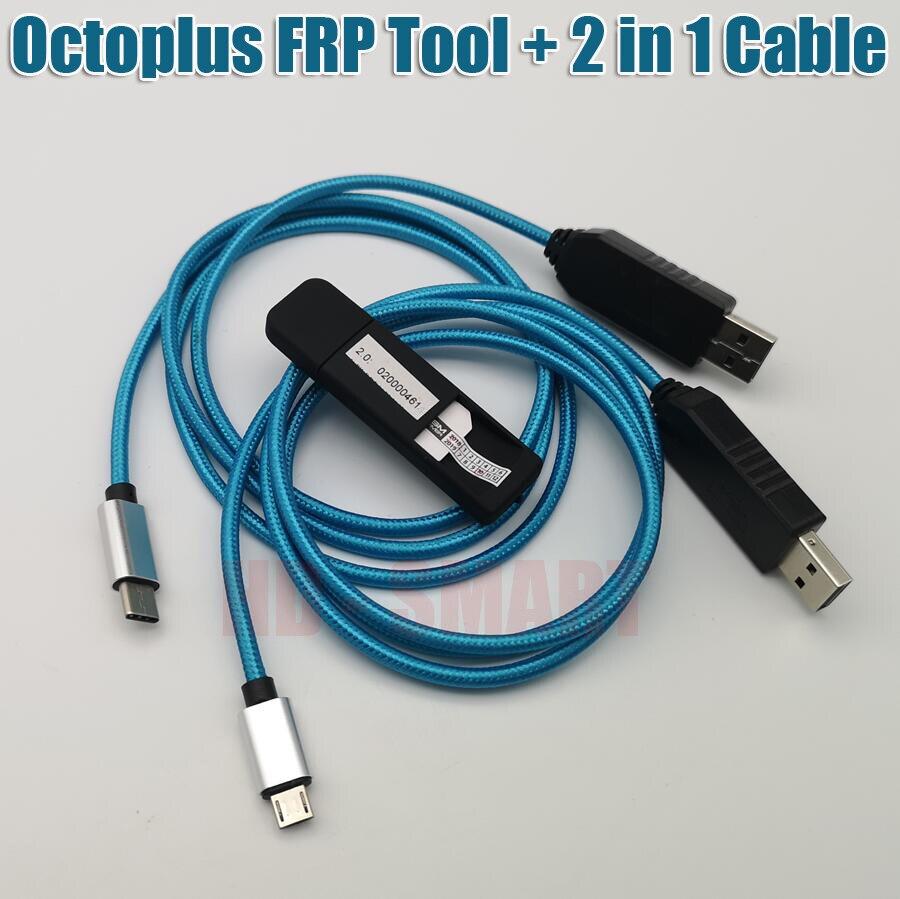 OCTOPLUS FRP herramienta dongle octoplus frp dongle + cable 2 en 1