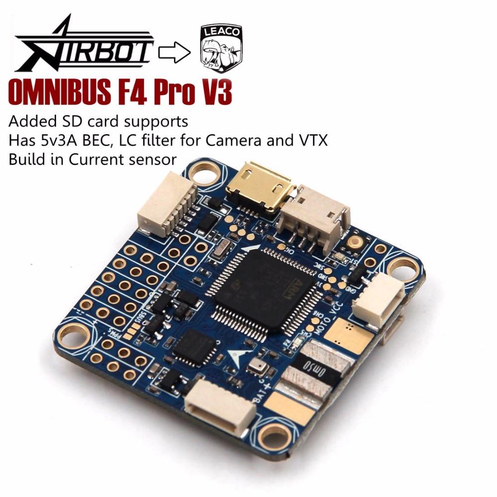 FLIP 32 F4 OMNIBUS V3 PRO Flight Controller Board w/ Baro built-in OSD For RC FPV Racing Cross Drone Quadcopter