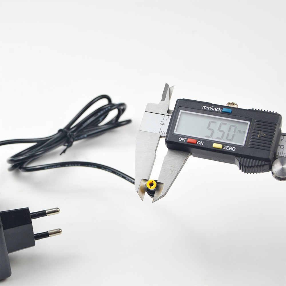 110 V-240 V-12 V 2A 24 Вт AC/DC адаптер Питание Зарядное устройство вилка европейского и американского 5.5mmx2.1-2,5 мм Jack