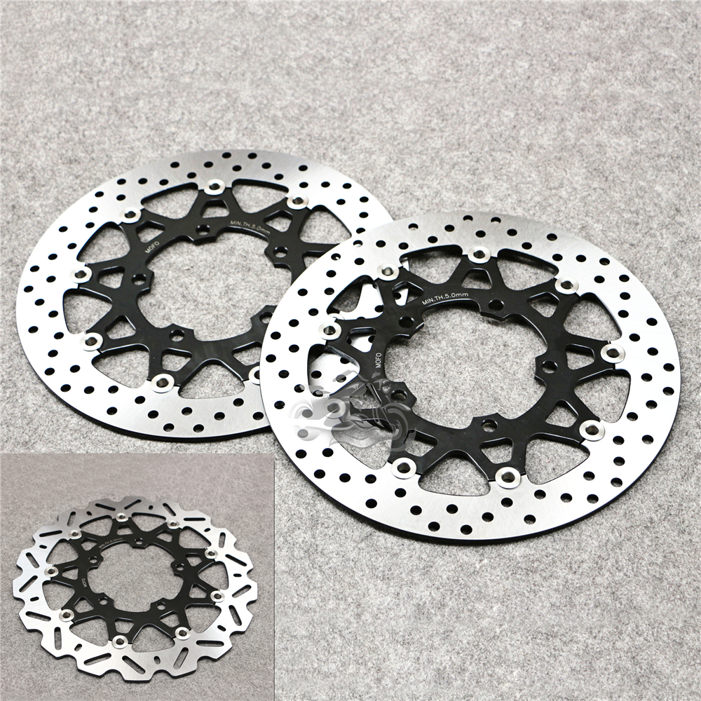 Floating Front Brake Disc Rotor For Motorcycle Suzuki GSX-R600/750 K6 2006-2007 & GSXR1000 K7 K8 K9 2005-2009 new brand motorcycle accessories gold front brake discs rotor for suzuki gsxr1000 2005 2006 2007 2008