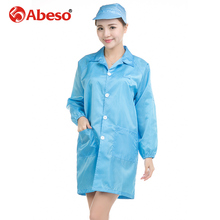 ABESO anti-static multi pockets polyester security washable clothes tops for utility & security/workshop/laboratory A7250