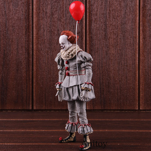 Image 4 - Giocattoli NECA Stephen Kings It the Clown Pennywise Figure PVC Horror Action Figures Toy Model da collezione