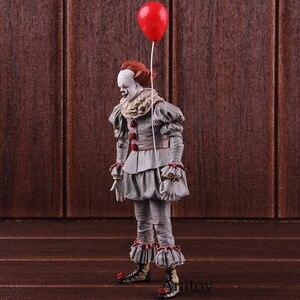 Image 4 - Neca Speelgoed Stephen King S Het De Clown Pennywise Figuur Pvc Horror Action Figures Collectible Model Speelgoed