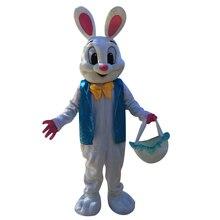 Пасхальный кролик костюм талисмана s кролик костюм талисмана Взрослый размер Пасхальный Рождественский вечерние Праздник Вечеринка косплей костюмы