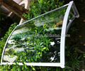 YP100120 100x120cm 39x47in depth 100cm width 120cm clear/white/black door canopies canopy awning ,polycarbonate awning