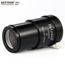 2x barlow lente 1.25 fully fully totalmente metal 2 vezes ampliação ocular telescópio astronômico ocular