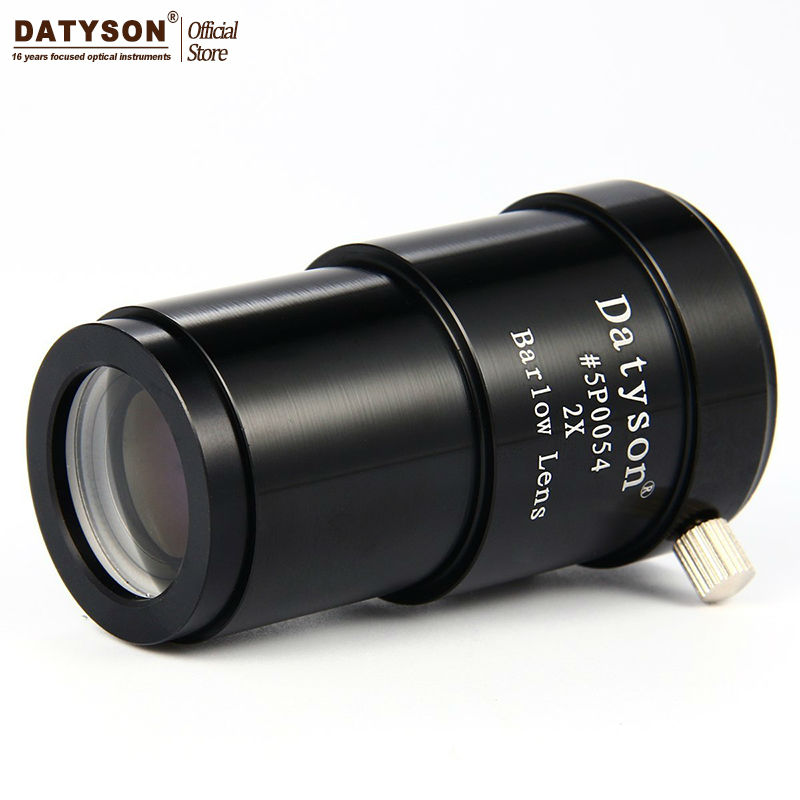 2x Lentille Barlow 1.25 ''Entièrement En Métal 2 Fois Grossissement Astronomique Télescope Oculaire Oculaire