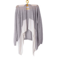 Female Spring Summer Autumn Hollow Out Knitted Sweater Color Blocking Elegant Soft Knitwear Ladies Women Open