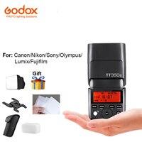 Godox TT350S tt350o Mini Camera Speedlite Flash TTL HSS 1/8000 s 2.4G Draadloze Controle voor Olympus Nikon Sony Canon Fujifilm