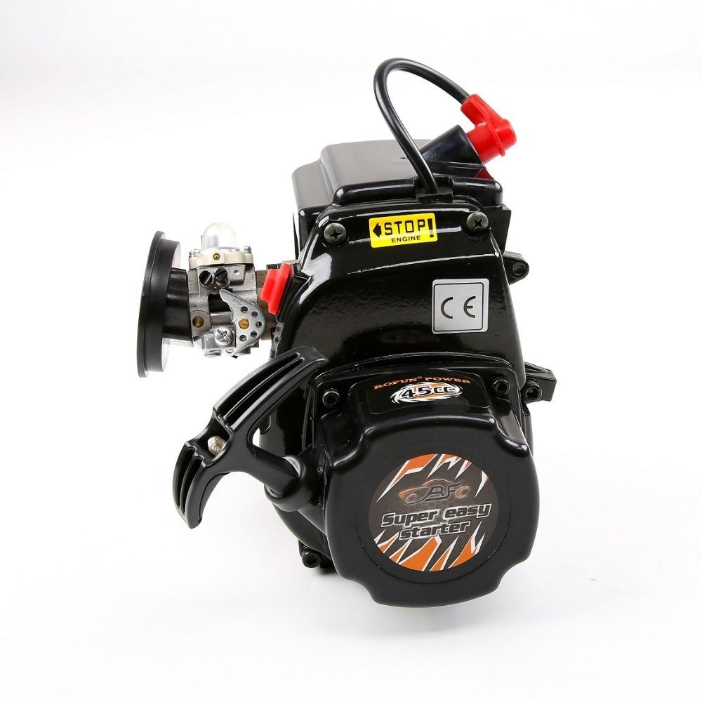 1/5 losi 5ive-t truck engine part 45CC 4 bolt motor with Walbro1107 carburetor NGK spark plug kawasaki spark plug br6hs part br6hs