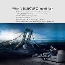 Original BOBOVR Z4 Leather 3D vr Cardboard Helmet Virtual Reality VR 3d Glasses Headset Stereo Box for 4-6′ Mobile Phone 2.0