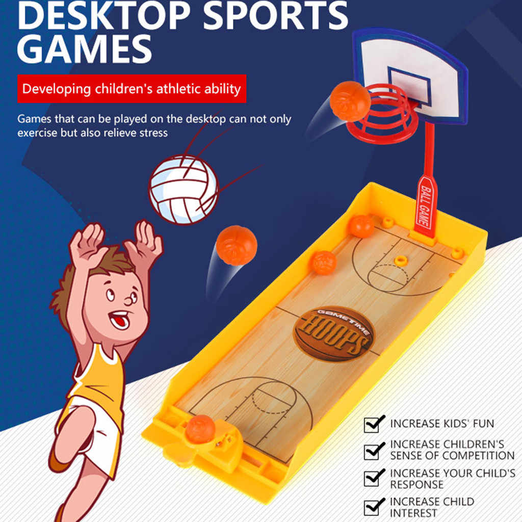party game Basketball Shooting Game Reduce Stress Toys Sports Table Game Toy for Kids tabletop game party spiele