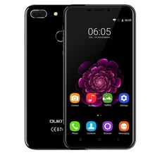 "OUKITEL U20 Plus Dual Cameras 4G Smartphone 5.5"" IPS Screen Android 6.0 MTK6737 Quad Core Mobilephone 2GB+16GB 13MP Fingerprint"