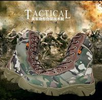 Cow Suede US Army Male Combat Shoes Men S Tactical Boots Autumn And Winter Desert Boots
