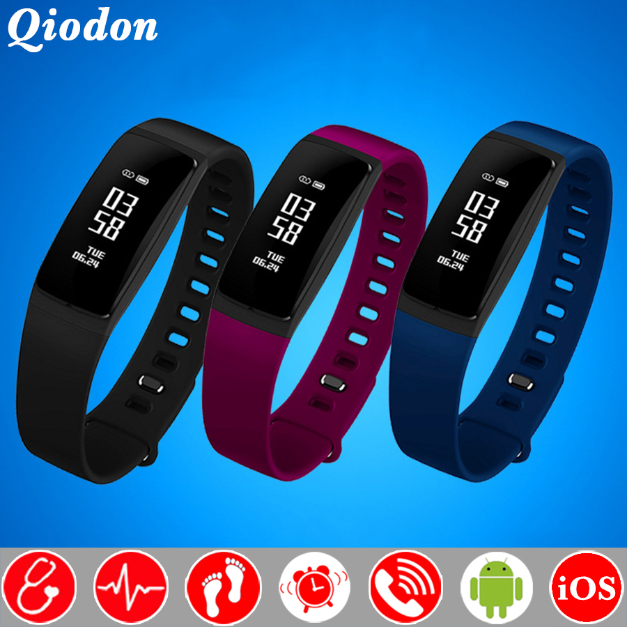 Das Mulheres da forma Fisiológica Monitor de Bluetooth Relógio Inteligente  Relógio Monitor de Pressão Arterial e Freqüência Cardíaca Smartwatch Para  Android ... ad78eaf296