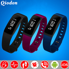 Fashion Women Physiological Monitor Bluetooth Smart Watch Clock Blood Pressure Heart Rate Monitor Smartwatch For Android iOS