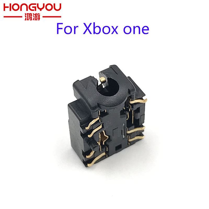 10Pcs Headphone Jack Plug Port For XBOX ONE Controller 3.5mm Headset Connector Port Socket