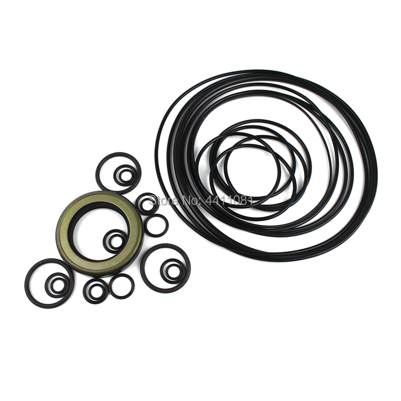 For Komatsu PC120-7 Hydraulic Pump Seal Repair Service Kit Excavator Oil Seals, 3 month warranty for komatsu pc120 5 swing gear box seal repair service kit excavator oil seals 3 month warranty