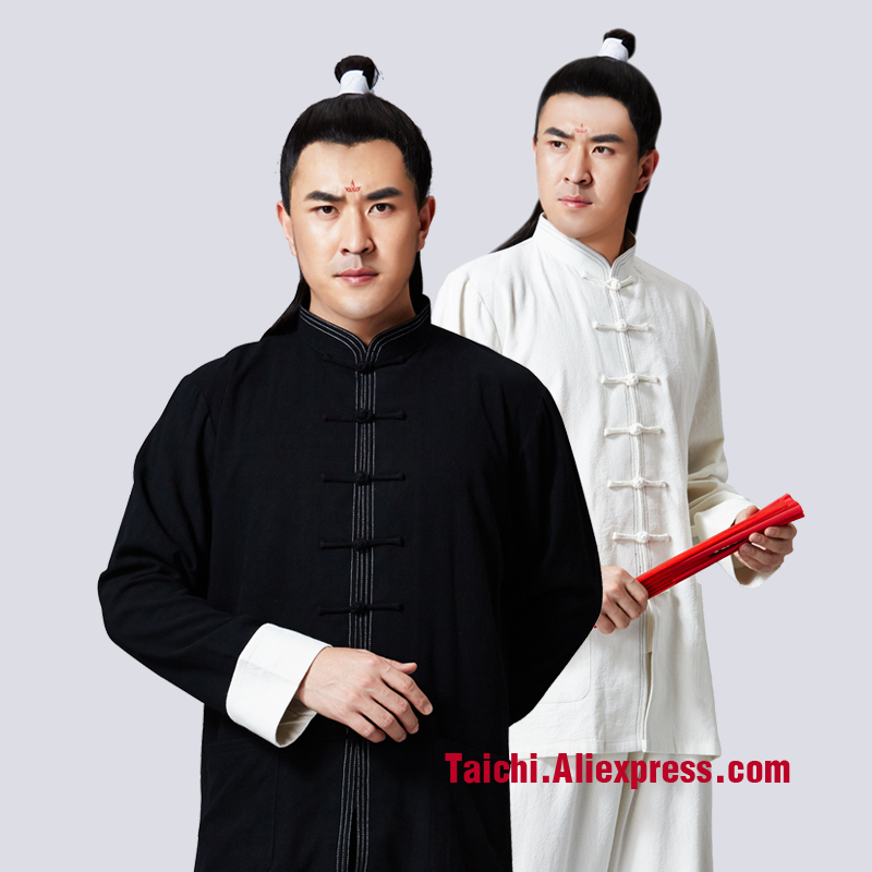 Flax And Cotton Tai Chi Uniform Wing Chun Clothes Chinese Stlye Clothes