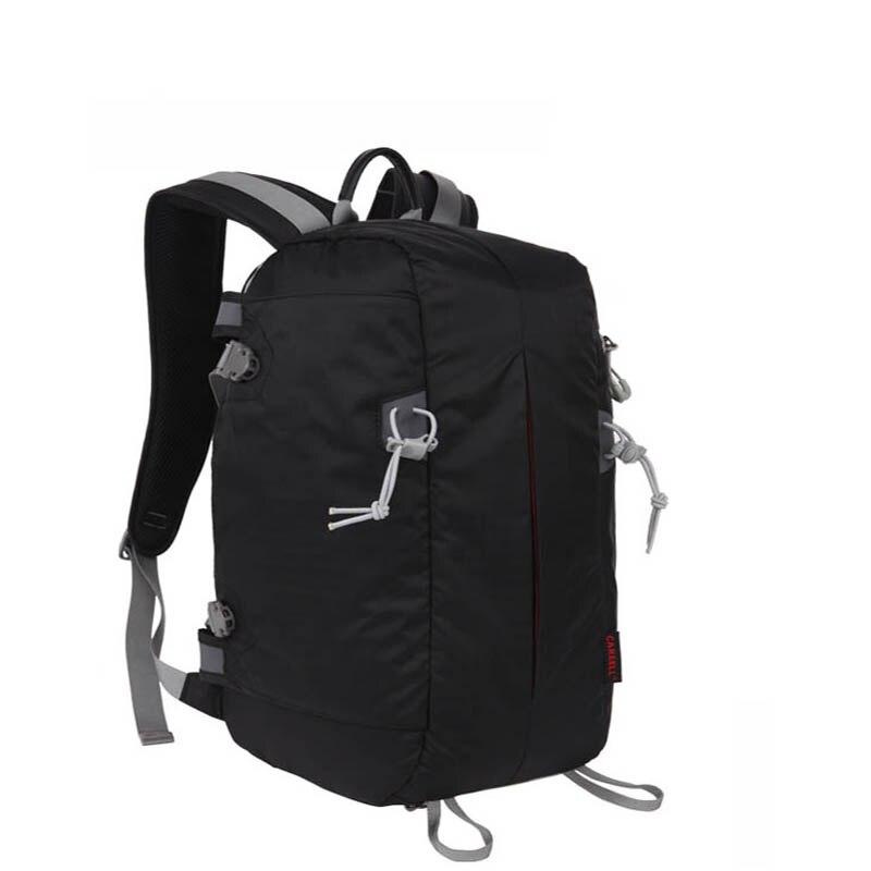 C3019 Travel Camera Backpack Digital SLR Backpack Soft Shoulders Waterproof Camera Bag Men Women Bag  Camera Video Bag
