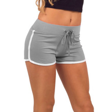 Casual Elastic Waist Shorts Multi Colors