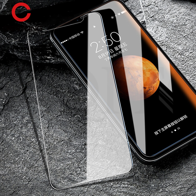 GerTong Tempered Glass For iPhone X 7 Plus 6 6S 5S 5 S SE 5C 4S 4 For iPhone 8 Plus 8 Screen Protector Toughened Protective Film