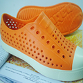 Summer jelly shoes beach sandals hole shoes breathable couple Fashionable