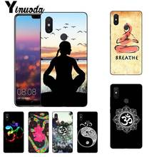 Yinuoda ejercicio aeróbico de Yoga DIY impresión funda de teléfono para Xiaomi mi 6 mi x2 mi x2S Note3 8 8SE Redmi 5 5Plus Note4 4X Note5