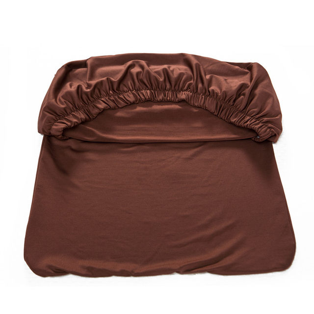 chair seat covers. 1 Piece Polyester Spandex Dining Chair Covers For Wedding Party Cover  Brown Seat CR005690429 Chair Seat Covers E