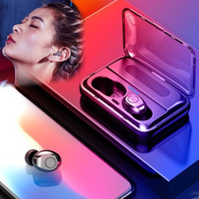 Hot TWS Bluetooth Earphone 5.0 Wireless Headset Touch Control Sport Ear Stereo Cordless Earbuds with Charging box