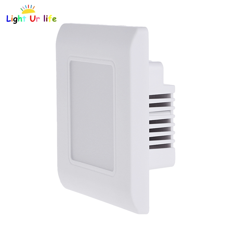 Outdoor Indoor Stair Step LED Light Wall Mount Deck Lighting Walkway Conner Lamp Installed On Wall Floor Underground Light-TwTh