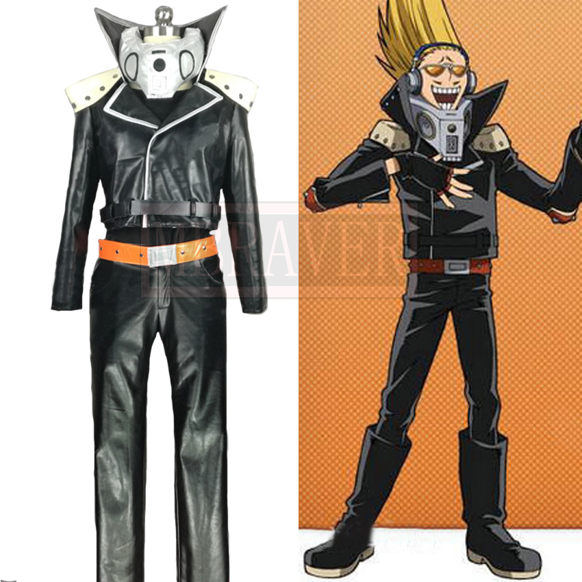 Anime Boku pas un Héros Les Universités Ma Hero Milieu Universitaire Présent Mic Cosplay Costume Fait Sur Commande N'importe Quelle Taille