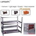 Lapsaipc Impilabile Computer Fame All'aria Aperta Mining Rig Caso 12 Scheda Grafica GPU USB PCI E Cavo case Del Computer + Fan parti di fissaggio