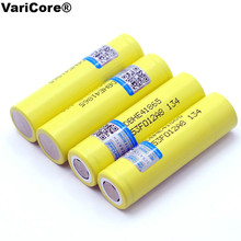 4pcs/lot VariCore Original For LG 18650 HE4 3.6V Rechargeable Battery 2500mAh 20A high drain HE4 Power battery cigarette tools