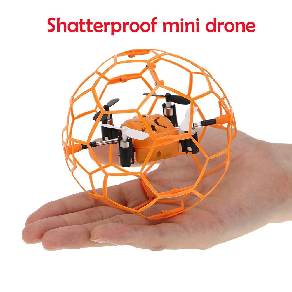 Lustige MINI RC Drone 2,4G 4CH fly ball smart fernbedienung hubschrauber bruch tasche flugzeuge quadcopter fliegen spielzeug